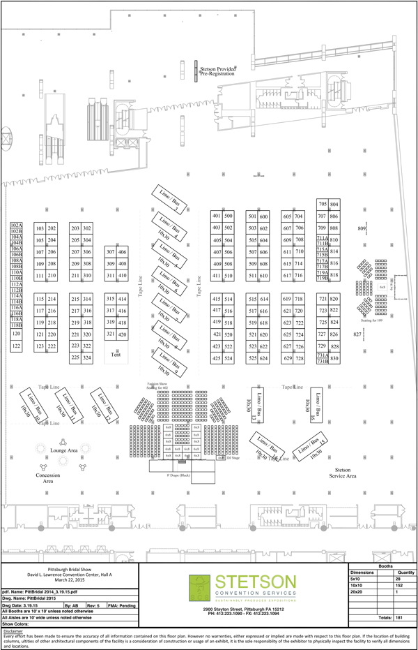 David L. Lawrence Floorplan